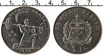 Изображение Монеты Австралия и Океания Самоа и Сисифо1 1 доллар 1976 Медно-никель XF