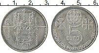 Изображение Монеты Португалия 5 евро 2004 Серебро UNC- ЮНЕСКО