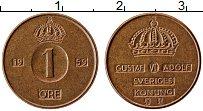 Изображение Монеты Швеция 1 эре 1959 Медь XF