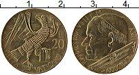 Изображение Монеты Ватикан 20 лир 1985 Латунь UNC- Иоанн Павел II