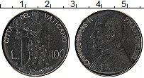 Изображение Монеты Ватикан 100 лир 1979 Железо UNC-