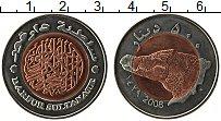 Продать Монеты Дарфур 500 динар 2008 Биметалл