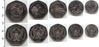 Изображение Наборы монет Сан-Томе и Принсипи Набор 1997 1997 Медно-никель UNC