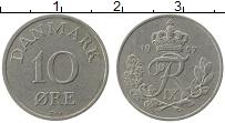 Изображение Монеты Дания 10 эре 1957 Медно-никель VF Фредерик IX