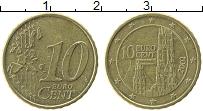 Изображение Монеты Австрия 10 евроцентов 2002 Латунь XF Собор Святого Стефан
