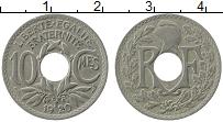 Изображение Монеты Франция 10 сантим 1920 Медно-никель XF