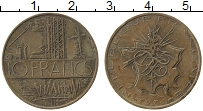 Изображение Монеты Франция 10 франков 1976 Медь XF