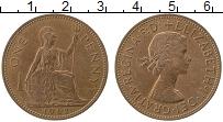 Изображение Монеты Великобритания 1 пенни 1962 Медь XF