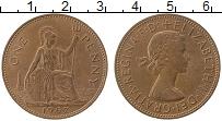 Изображение Монеты Великобритания 1 пенни 1967 Медь XF