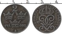 Изображение Монеты Швеция 2 эре 1944 Железо XF Густав V