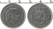 Изображение Монеты Нидерланды 1 гульден 1976 Медно-никель VF