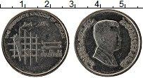 Изображение Монеты Иордания 10 пиастр 2009 Медно-никель XF Абдалла II ибн Хусей