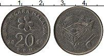 Изображение Монеты Малайзия 20 сен 2006 Медно-никель XF