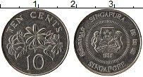 Изображение Монеты Сингапур 10 центов 1986 Медно-никель UNC-