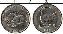 Изображение Монеты Тонга 5 сенити 1981 Медно-никель UNC-