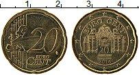 Изображение Монеты Австрия 20 евроцентов 2016 Латунь UNC-