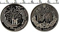 Изображение Монеты Украина 5 гривен 2014 Медно-никель UNC 70 лет Корсунь-Шевче