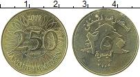 Изображение Монеты Ливан 250 ливров 2009 Латунь UNC-