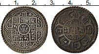 Изображение Монеты Непал 1 мохар 1908 Серебро VF