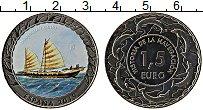 Продать Монеты Испания 1,5 евро 2019 Медно-никель