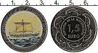 Продать Монеты Испания 1,5 евро 2018 Медно-никель