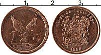 Изображение Монеты ЮАР 2 цента 1998 Медь XF Орел