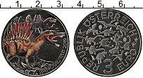 Изображение Мелочь Австрия 3 евро 2019 Медно-никель UNC Динозавры. Спинозавр