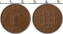 Изображение Монеты Гернси 2 пенса 1979 Медь XF