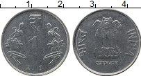 Изображение Монеты Индия 1 рупия 2011 Железо UNC-