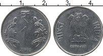 Изображение Монеты Индия 1 рупия 2011 Железо XF