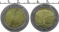 Продать Монеты Йемен 20 риалов 2004 Биметалл