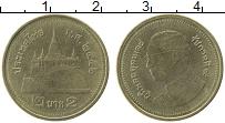 Изображение Монеты Таиланд 2 бата 2013 Латунь XF
