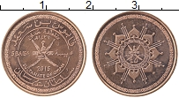 Изображение Монеты Оман 5 байз 2015 Медь UNC- Герб