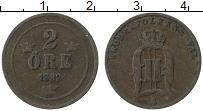 Изображение Монеты Швеция 2 эре 1882 Медь VF