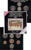 Изображение Подарочные монеты Великобритания Выпуск 1983 года 1983  UNC