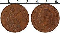 Изображение Монеты Великобритания 1 пенни 1935 Бронза VF Георг V