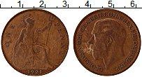 Изображение Монеты Великобритания 1 пенни 1921 Бронза XF