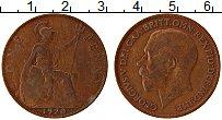 Изображение Монеты Великобритания 1 пенни 1920 Бронза VF Георг V
