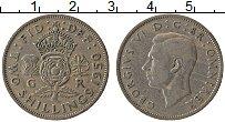 Изображение Монеты Великобритания 2 шиллинга 1950 Медно-никель XF