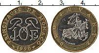 Изображение Монеты Монако 10 франков 1998 Биметалл UNC- Раньер III