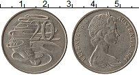 Изображение Монеты Австралия 20 центов 1966 Медно-никель XF Елизавета II