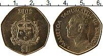 Изображение Монеты Самоа 1 доллар 2005 Латунь UNC- Малиетоа Танумафили