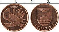 Изображение Монеты Кирибати 1 цент 1992 Бронза UNC-