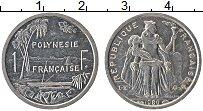 Изображение Монеты Полинезия 1 франк 1986 Алюминий UNC-