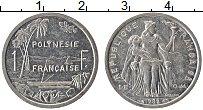 Изображение Монеты Полинезия 1 франк 1985 Алюминий UNC-