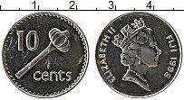 Изображение Монеты Фиджи 10 центов 1998 Медно-никель UNC-