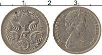 Изображение Монеты Австралия 5 центов 1968 Медно-никель XF