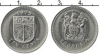 Продать Монеты Родезия 10 центов 1975 Медно-никель