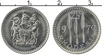 Продать Монеты Родезия 2 1/2 цента 1970 Медно-никель