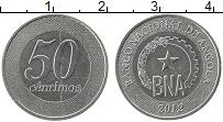 Изображение Монеты Ангола 50 сентаво 2012 Медно-никель UNC-